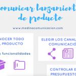 Infografía: comunicar lanzamientos de producto