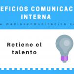Infografía: Beneficios de la Comunicación Interna