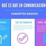 Infografía: Qué es qué en comunicación