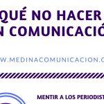 Infografía: Qué no hacer en Comunicación