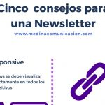 Infografía: Cinco consejos para una Newsletter
