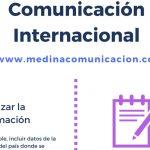Infografia: Comunicación Internacional de un vistazo