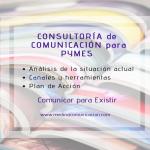 Consultoría, primer paso para avanzar en Comunicación