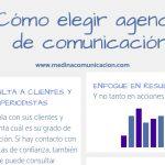 Infografía: cómo elegir agencia de comunicación