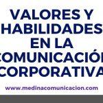 Infografía: habilidades y valores en Comunicación